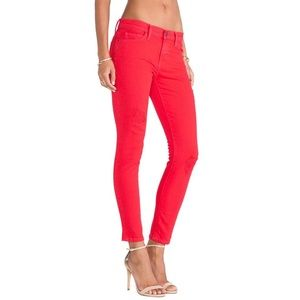 NWT MSRP $208 The Stiletto Cropped Skinny Jeans